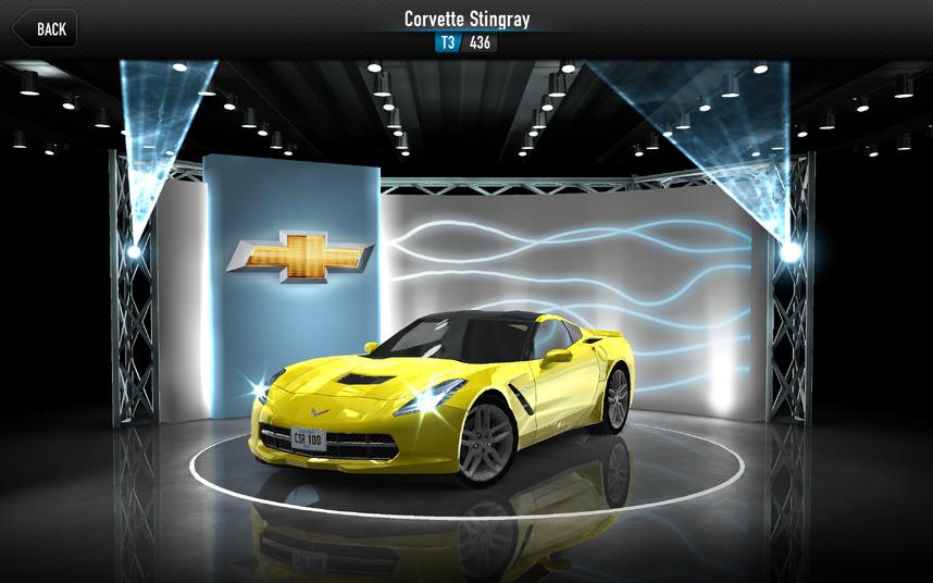 CSR1 Corvette