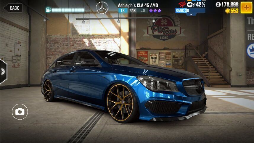 mercedes benz cla 45 amg shooting brake csr racing wiki. Black Bedroom Furniture Sets. Home Design Ideas