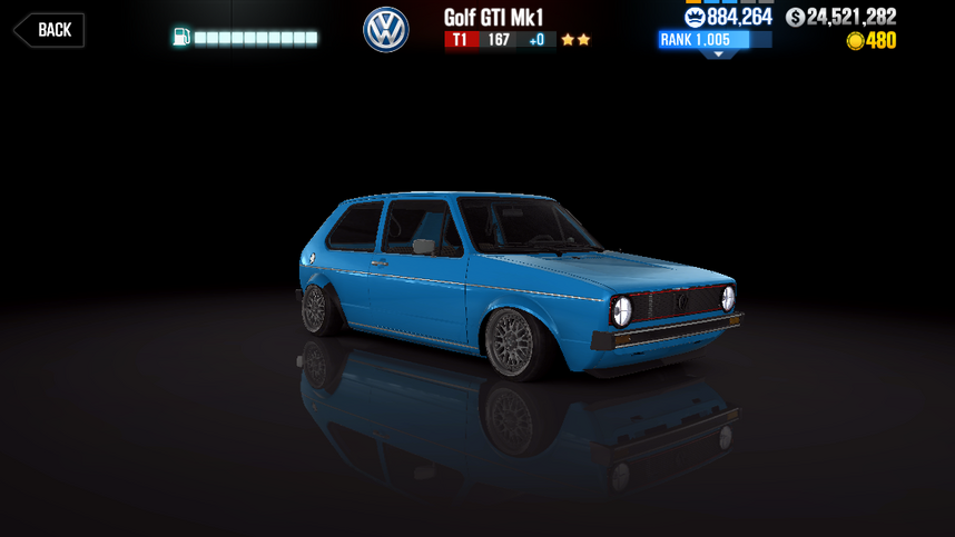 Volkswagen Golf Gti Mk1 Csr Racing Wiki Fandom Powered