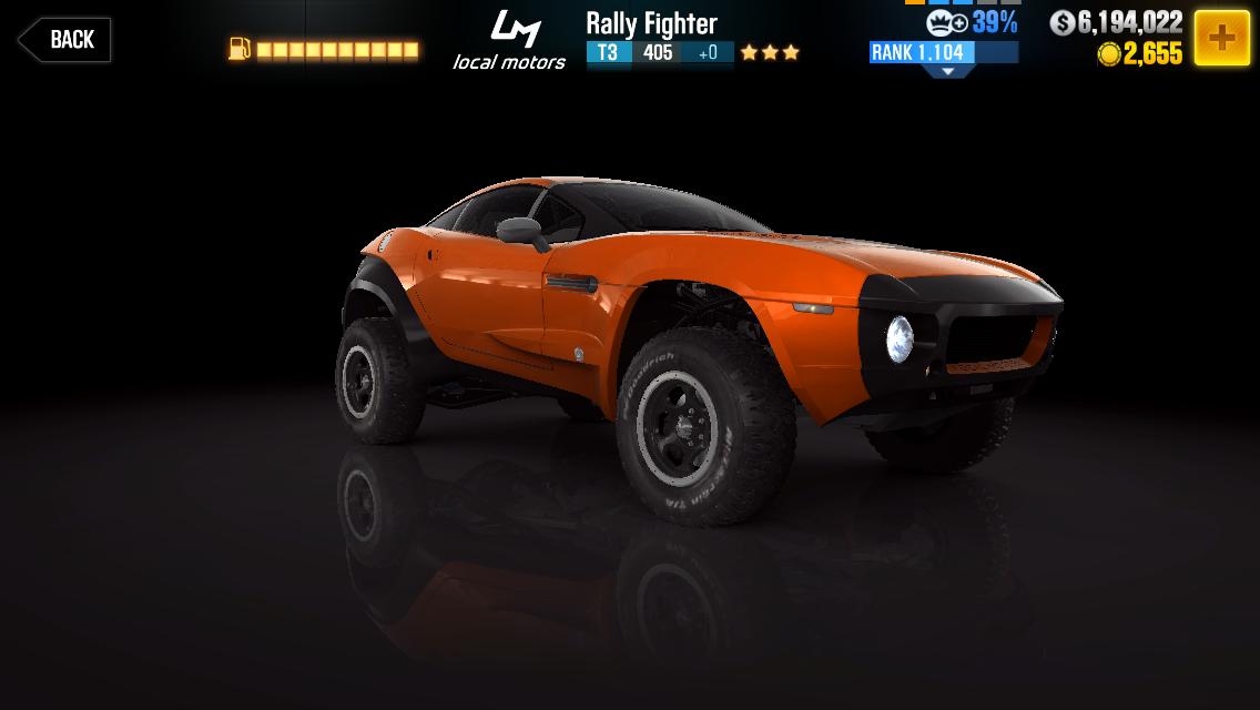Local Motors Rally Fighter | CSR Racing Wiki | FANDOM
