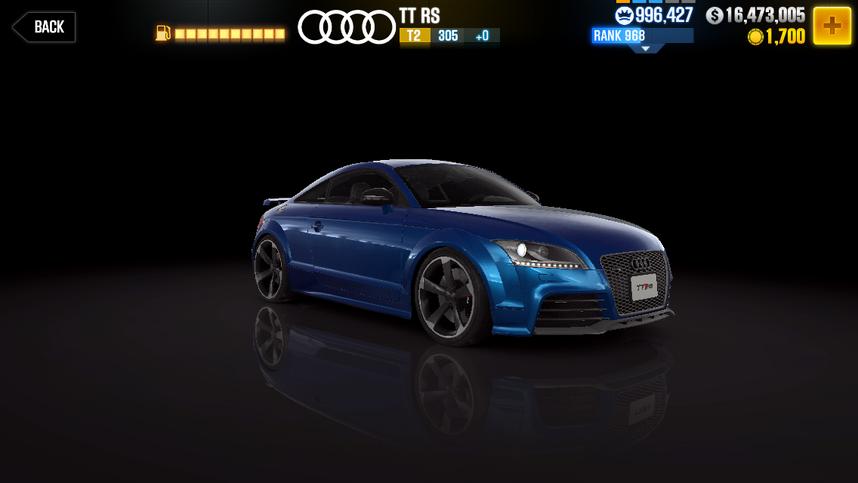 CSR2 TT RS