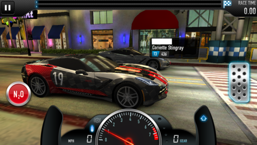CSR1 Corvette (Pro, Side)