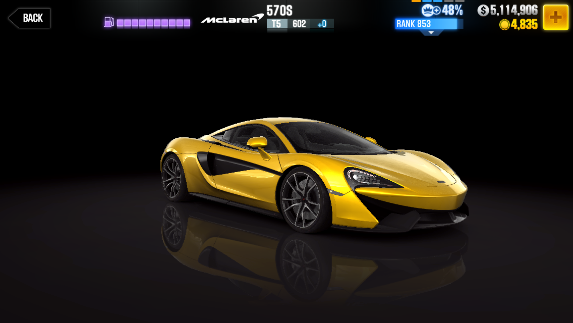 Mclaren 570s Csr Racing Wiki Fandom Powered By Wikia