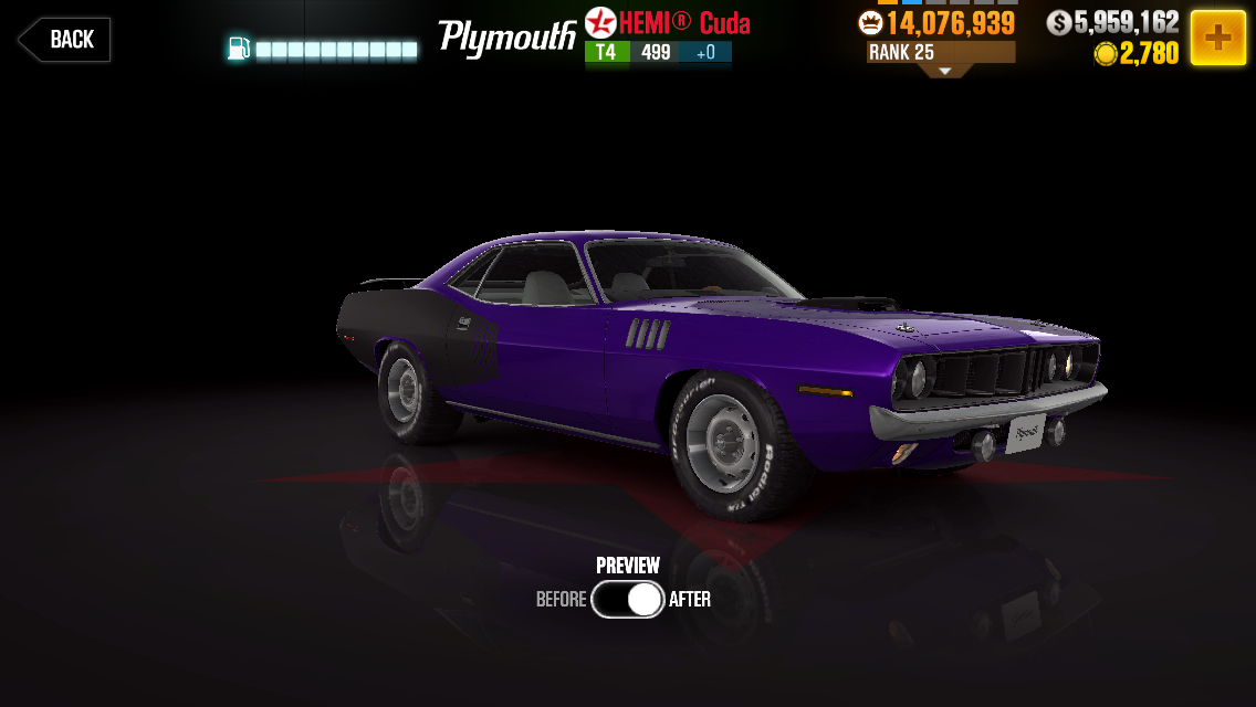 Plymouth Hemi® Cuda | CSR Racing Wiki | FANDOM powered by Wikia