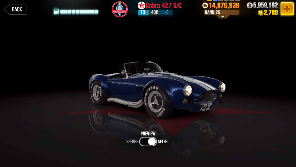 Shelby Cobra 427 S/C | CSR Racing Wiki | FANDOM powered by Wikia
