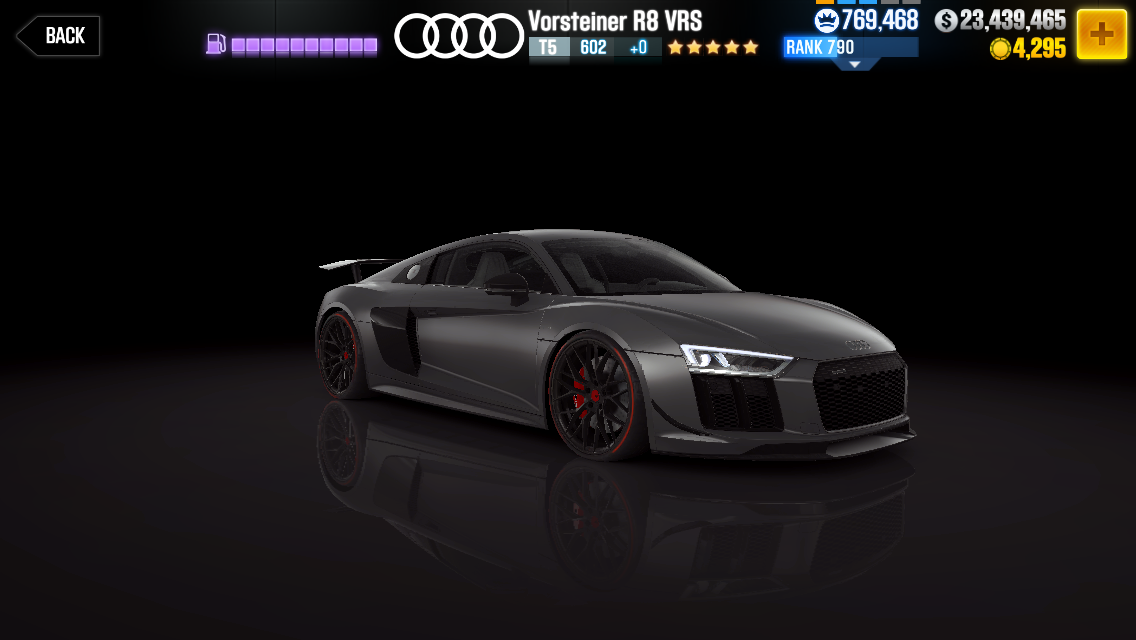 Purple Hennessey Venom Gt >> Audi Vorsteiner R8 VRS | CSR Racing Wiki | FANDOM powered by Wikia