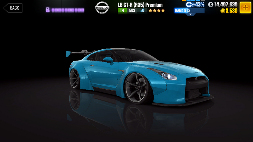 Nissan LB GTR R35 Premium  CSR Racing Wiki  FANDOM powered by