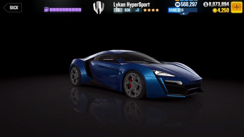 CSR2 Lykan