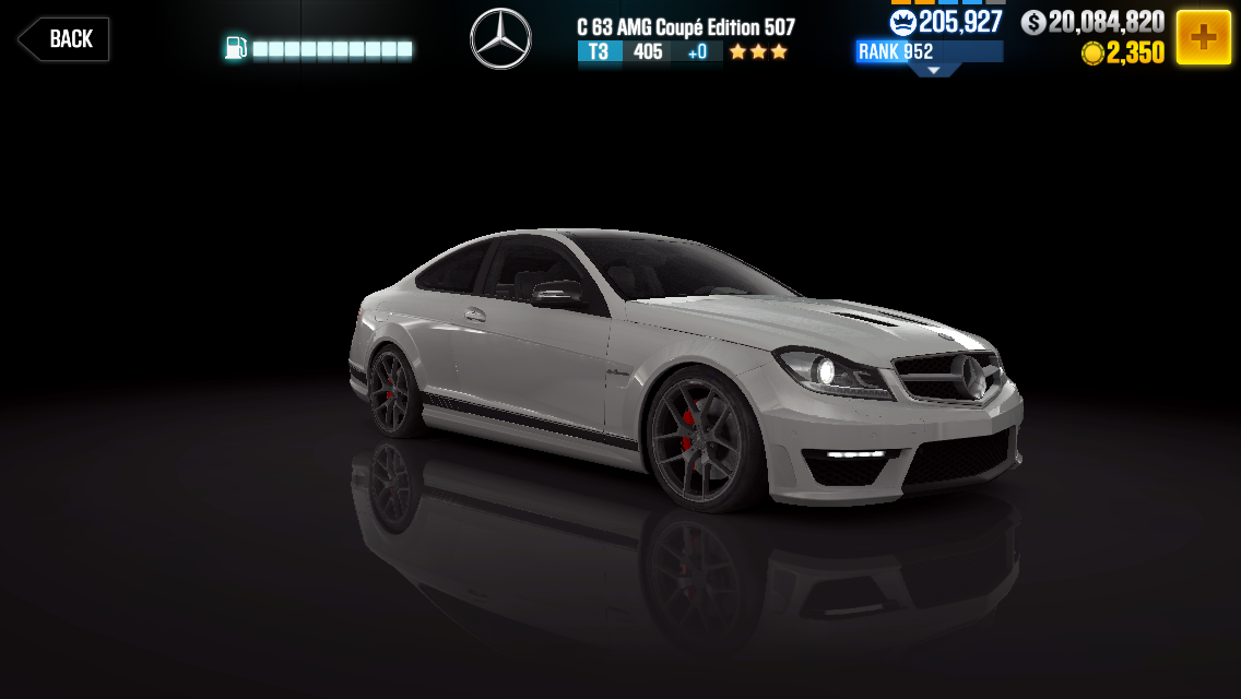 Mercedes Benz C63 Amg Coup 233 Edition 507 Csr Racing Wiki
