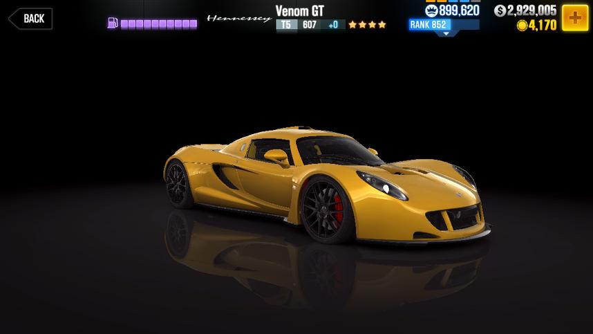 CSR2 Venom GT