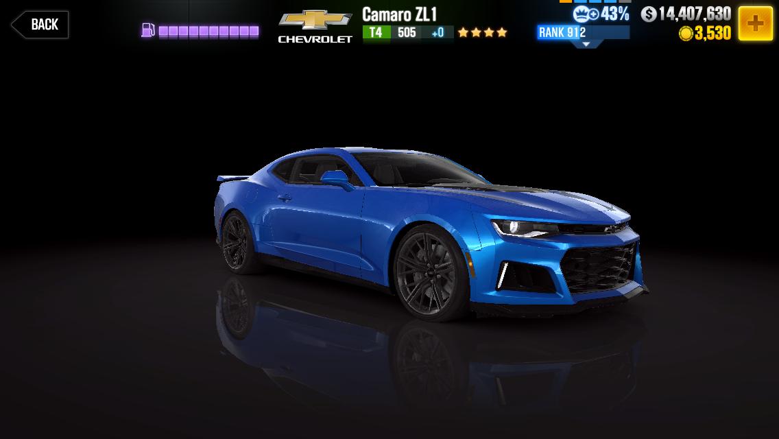 Chevrolet Camaro Zl1 2017 Csr Racing Wiki Fandom
