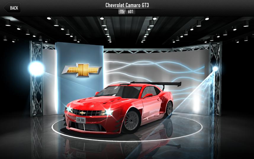 CSR1 Camaro GT3