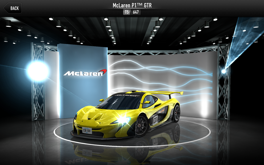 CSR1 P1 GTR