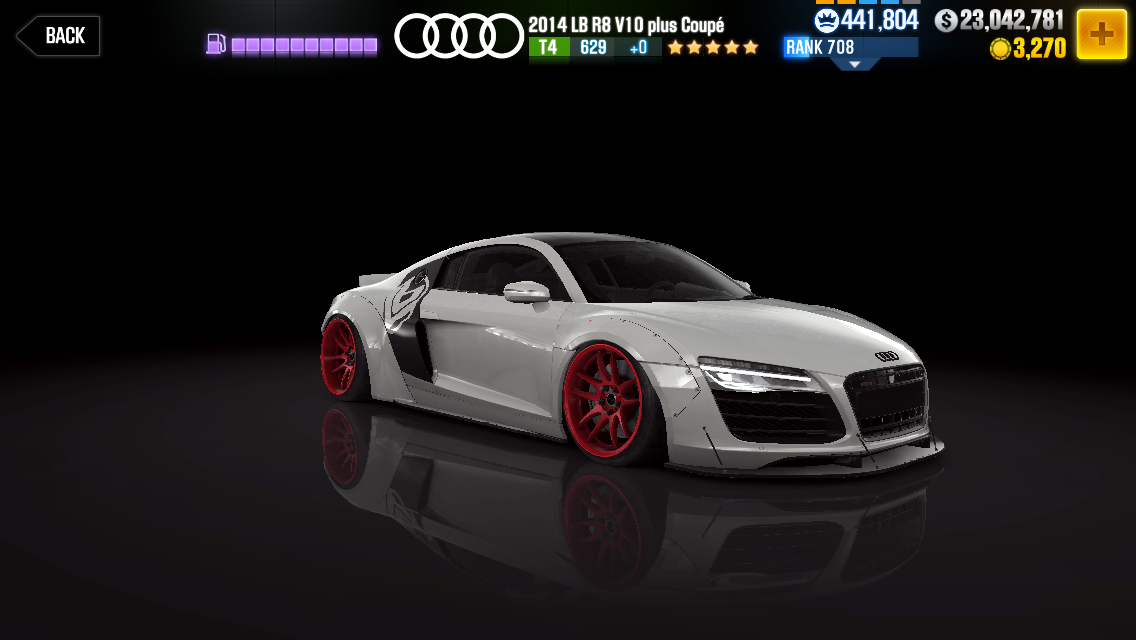 Audi 2014 LB R8 V10 plus Coupé | CSR Racing Wiki | FANDOM powered by Wikia