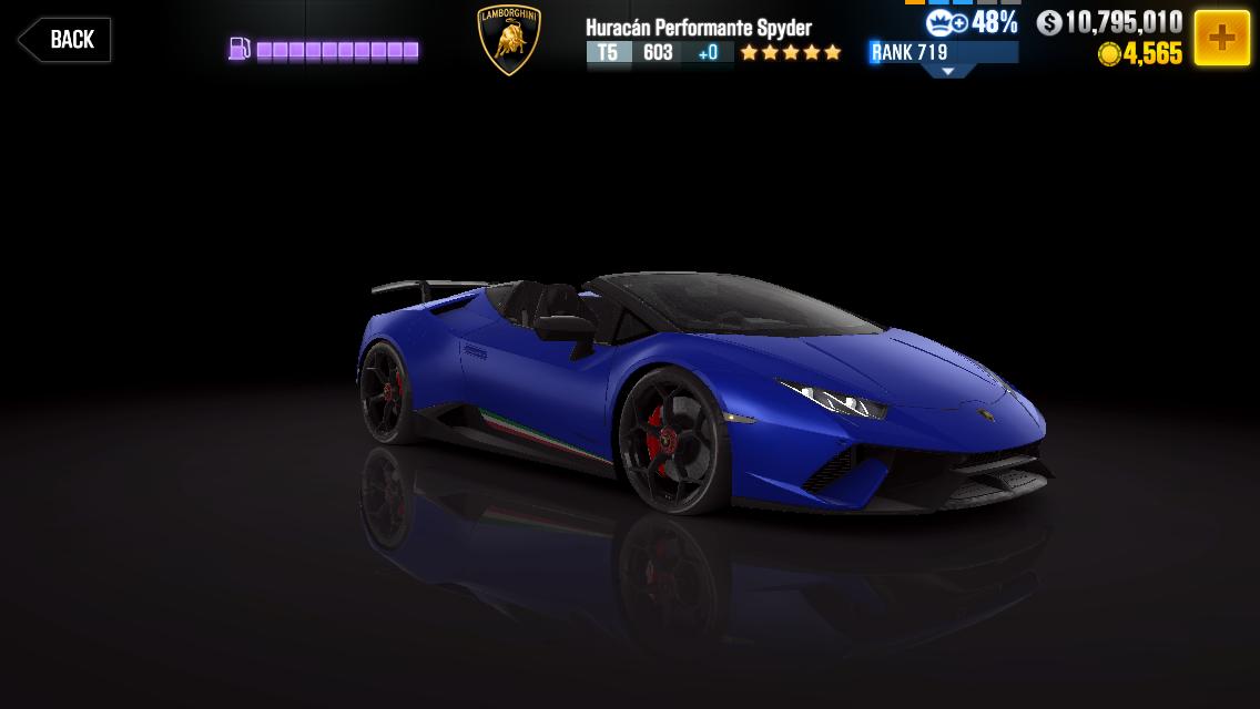 Lamborghini Hurac 225 N Performante Spyder Csr Racing Wiki
