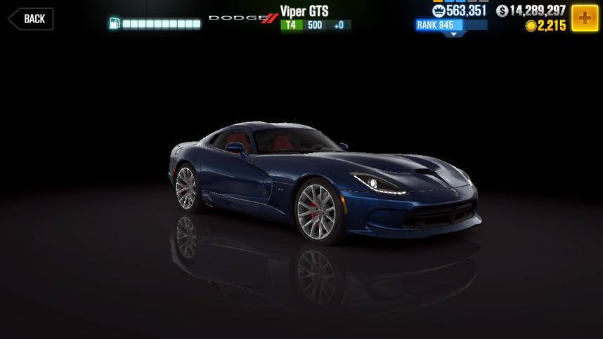 Dodge Viper GTS | CSR Racing Wiki | FANDOM powered by Wikia