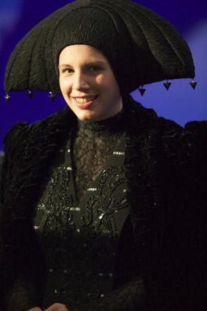 Amanda Lucas as an unnamed human senator in Ep. III.