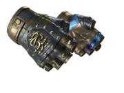 Studded hydra gloves bloodhound hydra case hardened light large