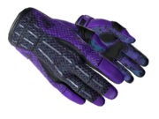 Sporty gloves sporty purple light large
