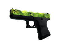 Weapon glock am nuclear skulls green light large