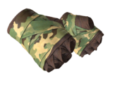 Leather handwraps handwrap leathery fabric green camo light large