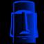 Tiki blue