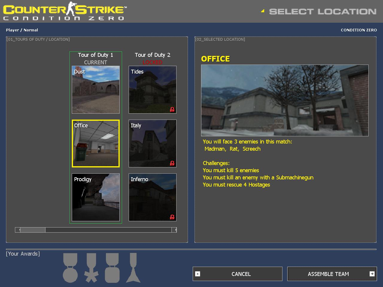 Counter Strike Condition Zero Maps Counter Strike: Condition Zero   Counter Strike Wiki   FANDOM