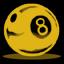 8ball1 yellow