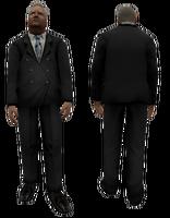 Businessman body3 ds