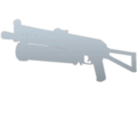 Inventory icon weapon bizon