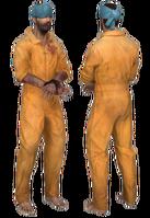 Hostage standing