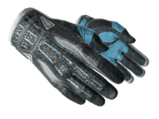 Sporty gloves sporty light blue light large