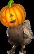 Chicken pumpkin