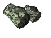 Leather handwraps handwrap camo grey light large