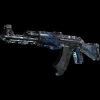 AK-47 Blue Laminate