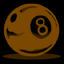 8ball1 brown