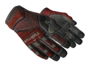 Specialist gloves specialist webs red light large