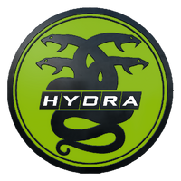 Collectible pin hydra large