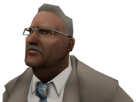 Businessman head1 ds