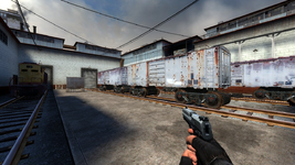 De train css first person view