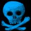 Skull ltblue