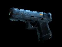 Weapon glock cu glock indigo light large