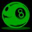 8ball1 green