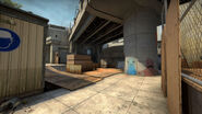CSGO Overpass B site 30 September 2014 update