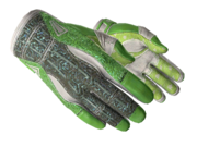 Sporty gloves sporty green light large