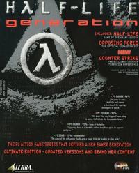 Half-Life Generation cover