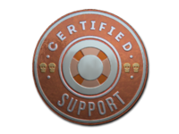 Csgo-stickers-team roles capsule-support foil