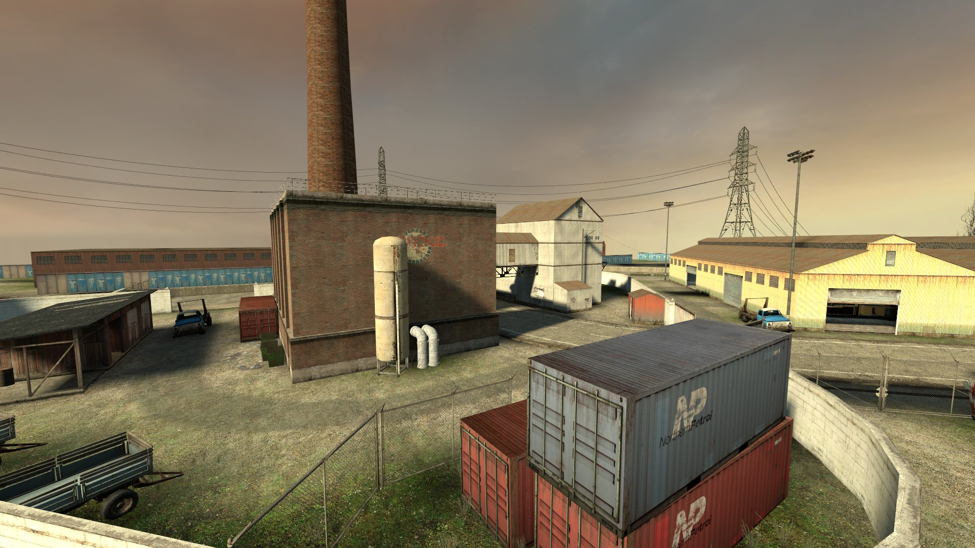 Counter Strike Source Maps Compound | Counter Strike Wiki | FANDOM powered by Wikia