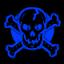 Chuckskull blue