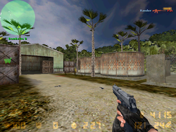 De airstrip cz0000 bombsite B BEST player view